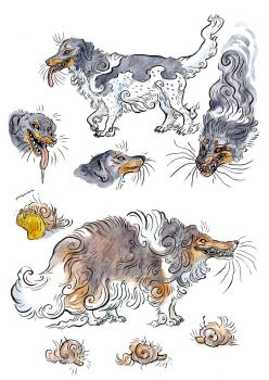 Yokai Dogs by Maquenda
