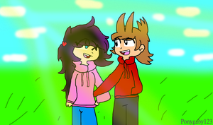 [Gift] Alexa and Tord by PONYGABY123