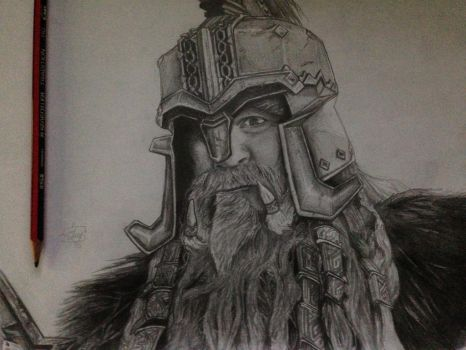 King Dain Ironfoot of the Iron hills Finished by royalsmiley