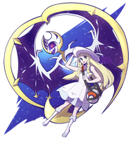 Lunala and Lillie