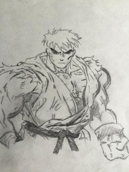 Ryu sketch by angrybuddhist
