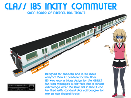 Class 185 Vala Incity Commuter by Gwentari