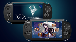 Final Fantasy VIII [PS Vita Custom Theme) by TrNxSLAYER