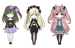 girls adopt // points // OPEN // 2/3 by MysteriousAdopts