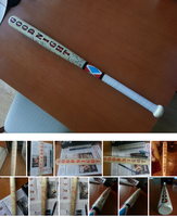 Harley Quinn baseball bat by niC00L