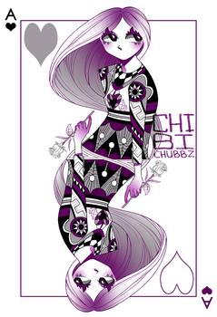 Ace Of Hearts by ChibiChubbz