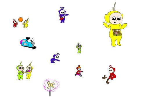 More teletubbies drawing  by mcdnalds2016