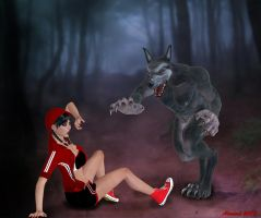 Modern Lil Red Riding Hood by AlucardsSpirit