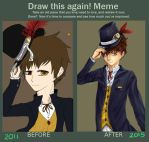 Draw this again: 2011/2015 by Maplefly