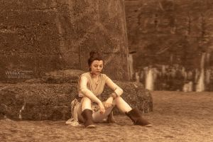 I know all about waiting [Rey Star Wars VII] by FaerieBlossom