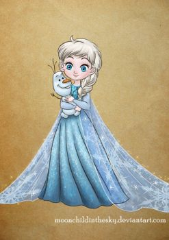 Little Ice Queen by MoonchildinTheSky