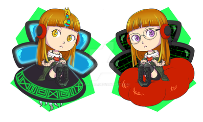 Persona 5 Futaba/Oracle Reversible