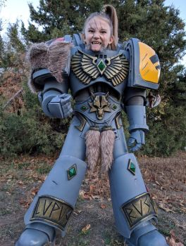 Warhammer 40k Space Wolf Boy - Cosplay Costume by Killhunger