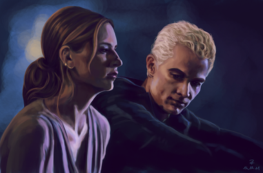 Buffy and Spike by Prof-Dr-Dr-Weird