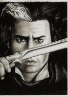 Johnny Depp as Sweeney Todd by VixSky