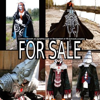 Midna and Zant cosplay for sale by Viveeh
