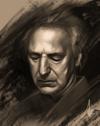 Alan Rickman by trungbui42