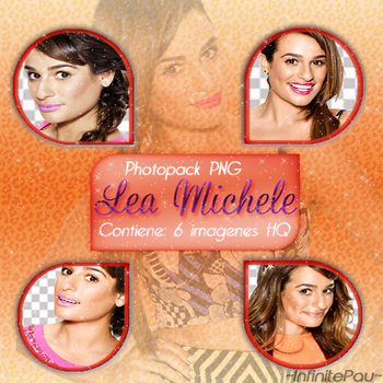 *Photopack PNG* #LeaMichele by PaulikO-Tutoriales