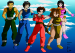 First generation Legend Killers/Breakers by fighterxaos