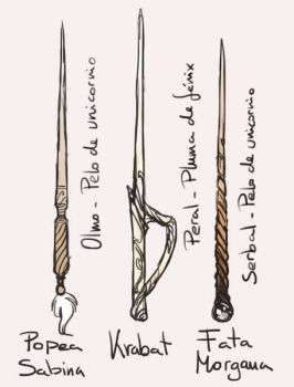 Wand designs by N-XIVCCI
