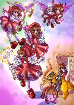 CCSakura - Super Smash Bros by straywillowisp