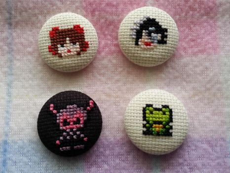 xstitch pins by toader