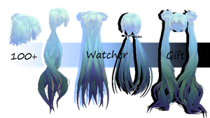 100+ Watcher Gift : Hair Pack by atoswirl
