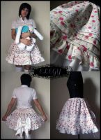 Cherry Sprinkle Lolita Skirt by MissChubi