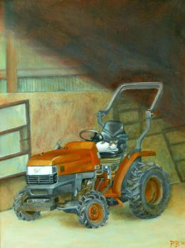 This Is My Tractor by Dagger-13