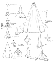 A bunch of aircraft by VoughtVindicator
