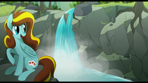 What a Waterfall delight by YollerZ