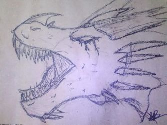 Halcyon work doodle by Ephah