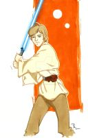 Luke Skywalker by RuthALawrence