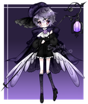 Collab adopt - Gothic angel - Auction (OPEN) by xox-o