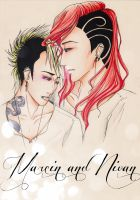 Marcin and Nivan by mlle-hughes
