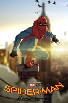 Spider man Homecoming by BlueB1rd666