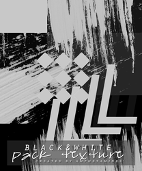 [PACK TEXTURE] Black and white by amphetamines' by DAMIANsoul