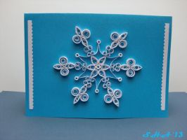 Xmas Quilling Card 2012 by sushann
