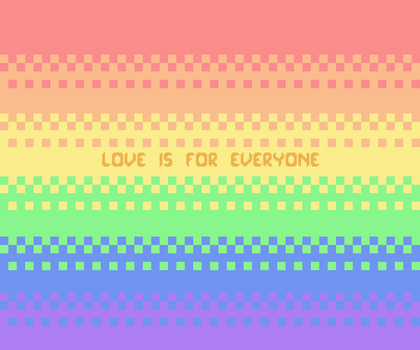 Love is for Everyone by andysoilder