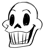 Papyrus (GIF) by DragonHeartWolf