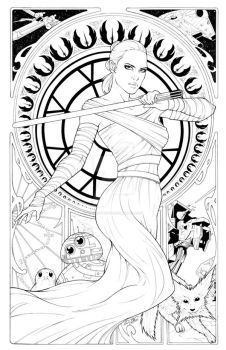 Rey Mucha Two PIece Inks by sorah-suhng