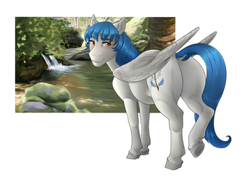 Commission| Snowliasion| Snowy by RomyvdHel-Art