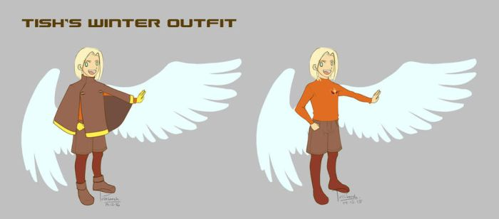 Tish's Winter Outfit by CatSummoner