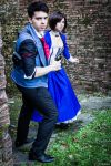 Booker and Elizabeth - Follow me by Achico-Xion