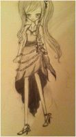 Yukina Yumehara (OHSHC Fanfic) Competition Outfit by CardCaptorMiele