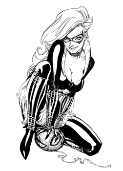 Black Cat - Inks by J-Skipper