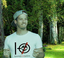 Josh Dun In A Park (deviantID) by centuries-immortals