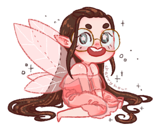 Cherry, the Pink Fairy by CherryHour