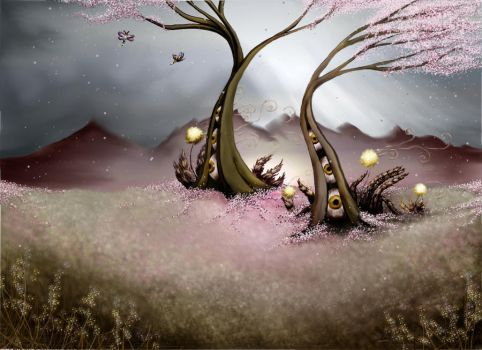 eyeball trees by aspiring-x