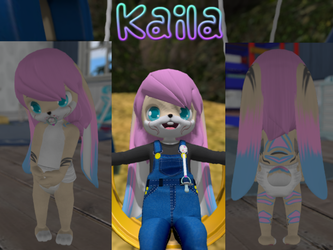 Kaila in Second Life(CM) by tailslover42